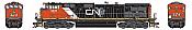Athearn G31608 HO Scale - G2 Dash 9-44CWL Diesel, DCC & Sound - CN #2511