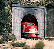 Woodland Scenics 1152 N Scale Tunnel Portals Concrete