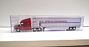 Trucks n Stuff TNS020 - HO Peterbilt 579 Sleeper Cab Tractor - 53ft Dry Van Trailer - U.S. Xpress