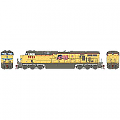 Athearn G83087 - HO Scale ES44AC DCC Ready Diesel - UP Faded #5529