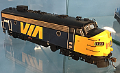 Rapido Trains 222537 - HO GMD FP7 - ESU Loksound DCC/Sound - VIA Rail Canada #1423 - New Stock