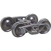 Kadee 504 - HO A.S.F. Ride Control 50 Ton Trucks w/33in Smooth Back Wheels - Metal Fully Sprung (1pair)