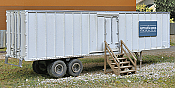 Walthers SceneMaster Construction Site Storage Trailer