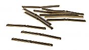 Peco  1165 HO SL 110 Code 70, 75, 83 Rail Joiners, North American-Style 24 pcs. Nickel Silver