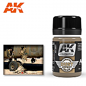 AK Interactive 2031 Air Series Landing Gear Dust Effect Enamel Wash 35ml