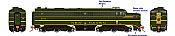 Rapido 23518 HO - PA-1 Single Locomotive - DCC & Sound - New Haven #0782