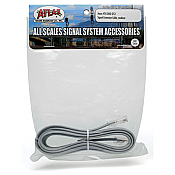 "Atlas Model Railroad Co. 70000054 Signal Extension Cable - All Scales Signal System Long - 72"" 183cm 150-70000054"