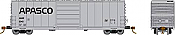 Rapido 139010-F HO Scale - Evans X72A Box car: APASCO - GE Leasing - Single Car #6150