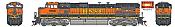 Athearn G31612 HO Scale - G2 Dash 9-44CW Diesel, DCC & Sound - BNSF Railway H1 #1050