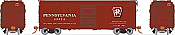 Rapido 123003-F HO Scale - PRR X31A Single-Door Boxcar: Shadow Keystone, Early - Single Car #76642
