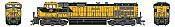 Athearn G31619 HO Scale - G2 Dash 9-44CW Diesel, DCC & Sound - CNW #8646