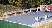 Pikestuff 13 - HO Highway Guardrails - 21-1/8in (53.7cm) - (6pcs)