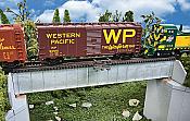 Walthers 4507 HO Cornerstone 70' Single Track Railroad Deck Girder Bridge