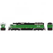 Athearn Genesis G75604 HO - SD60M Diesel Tri-Clops - DCC/Sound - BNSF #9212