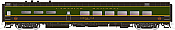 Rapido Trains 124001 HO Scale Pullman-Standard Lightweight Diner-Lounge Canadian National #1337 Pre Order