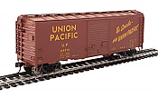 Walthers Mainline 2264 - HO 40ft ACF Welded Boxcar w/8ft Youngstown Door - Union Pacific #125842