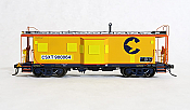 Tangent Scale Models HO 60014-01 - ICC B&O I-18 Steel Bay Window Caboose - CSXT -Ex-Chessie Patch 2002+ #900064