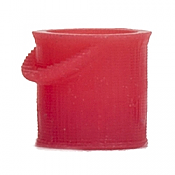 Atlas 4002040 HO - 3D Red Fire Bucket (10 per package)