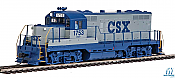 Walthers Mainline 20423 - HO EMD GP9 Phase 2 w/Chopped Nose - DCC/Sound - CSX #1834
