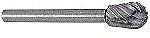 """Dremel High-Speed Steel Cutter w/1/8"""" Steel Shank 1/4"""" wide 1 pcs"""